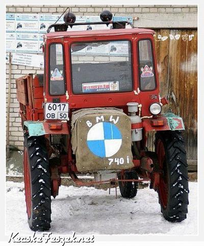 Bmw Traktor Vicces Kepek Humoros Fotok Kecskefeszek