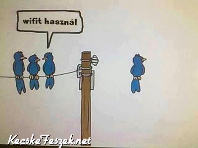Wifit használ