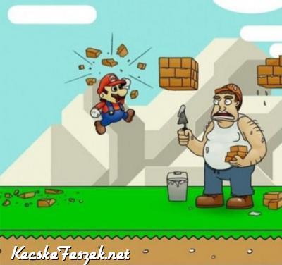 Mario a troll