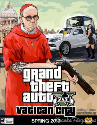 Grand Theft Auto V, mint Vatican City