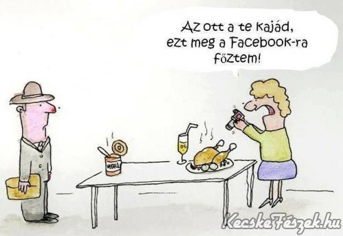 Facebookra főztem