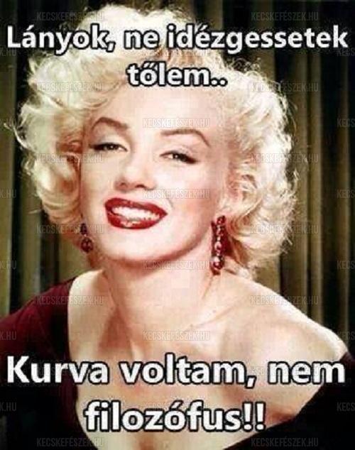 egysoros vicces idézetek Marilyn Monroe idézetek « Vicces képek, humoros fotók • KecskeFészek