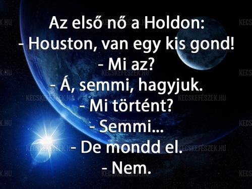 Az els� n� a Holdon
