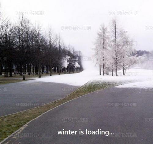 Winter is loading