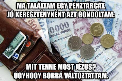 Talált pénztárca