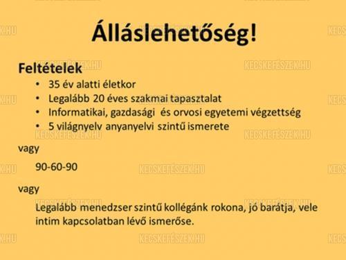 �ll�slehet�s�g :)