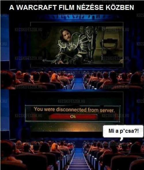 Warcraft film n�z�se k�zben