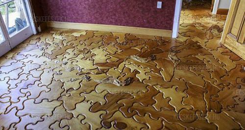 Puzzle parketta