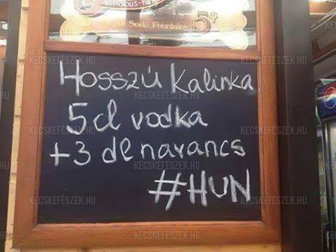 Hosszú Kalinka :)