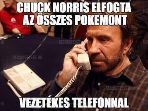 Chuck Norris elfogta az összes Pokemont