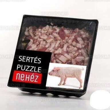 Sertés puzzle