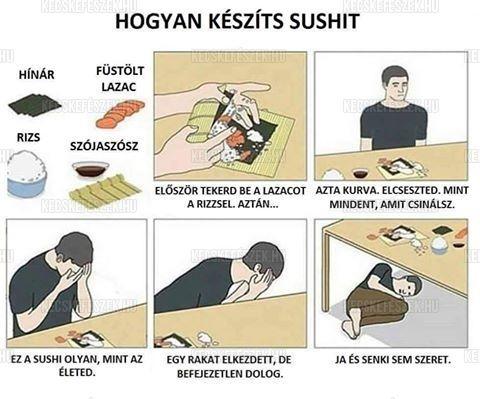 Hogyan készíts sushit?