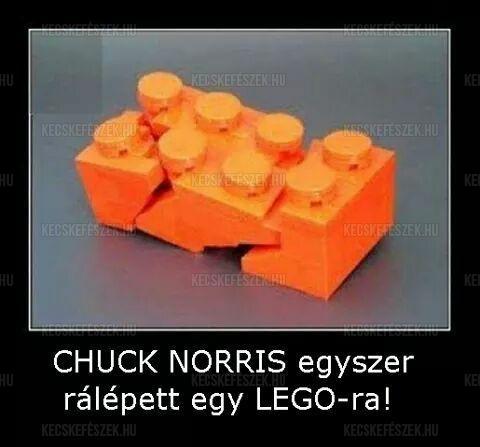 Chuck Norris és a LEGO