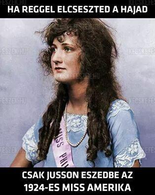 Ha elszeszed a hajad...