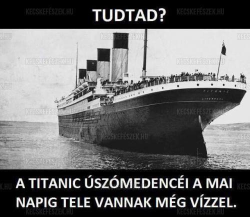 Titanic tények
