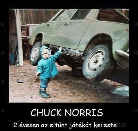 Chuck Norris 2 évesen